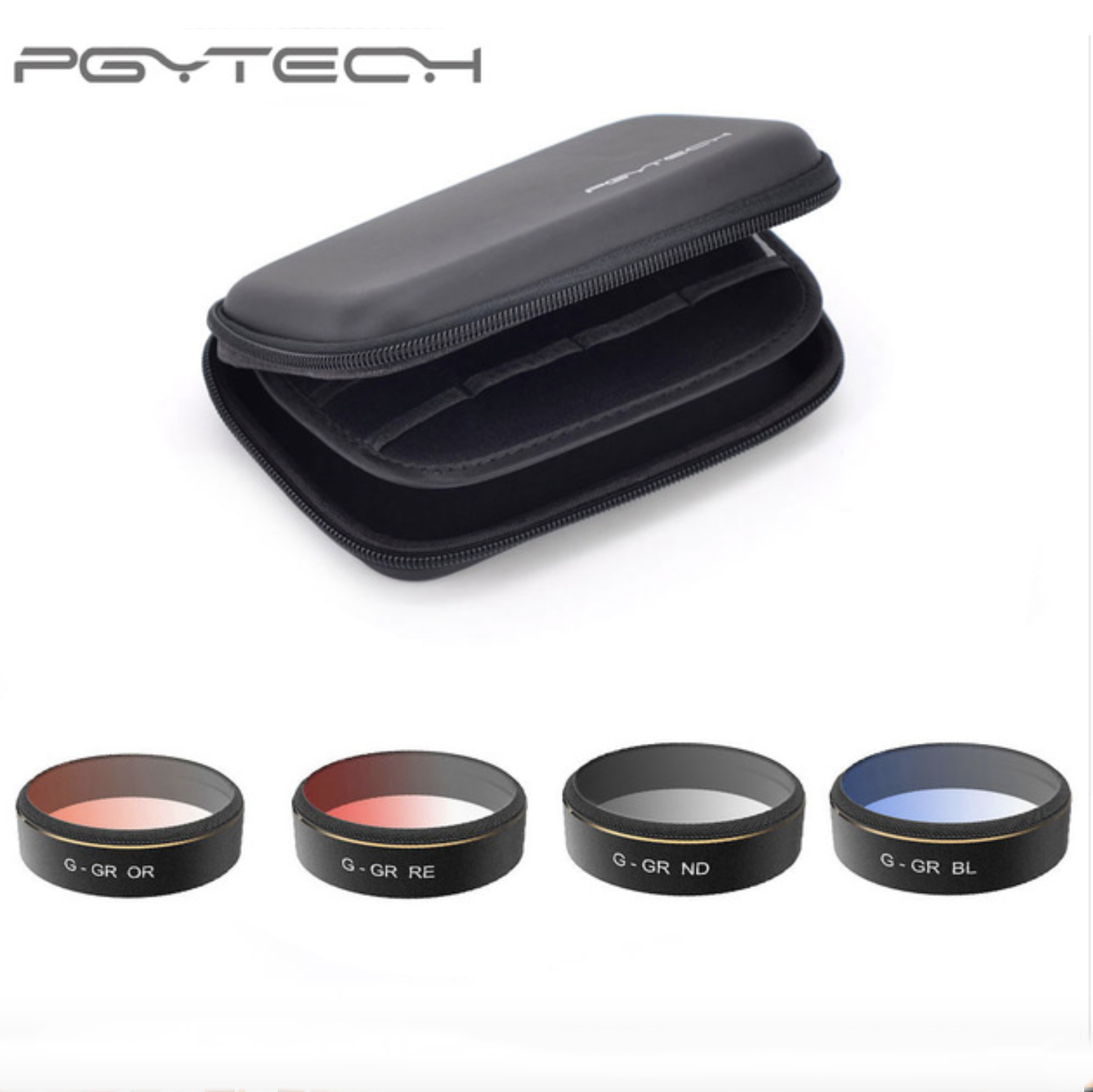 PGYTECH G-ND/ G-OR/ G-BL/ G-RE Lens Filters And 4pcs G set DJI Phantom 4 PRO