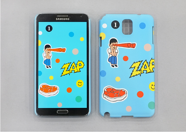 LOVE BEAM POP SNAP CASE FOR GALAXY NOTE 3