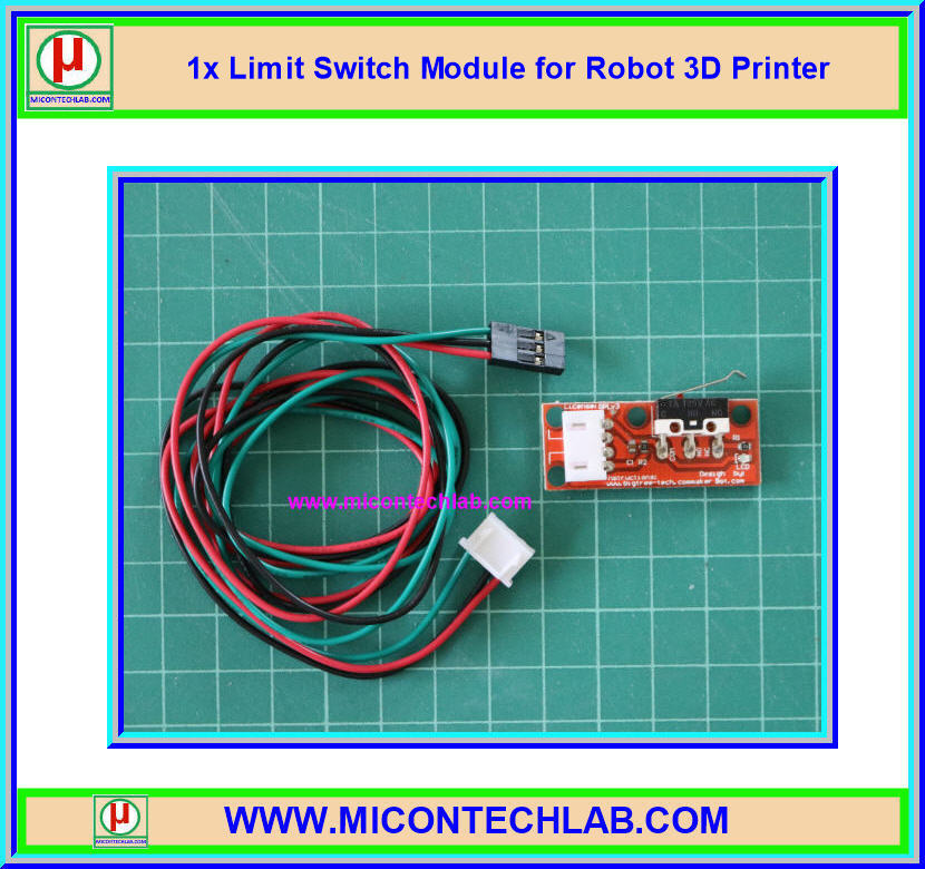 1x Limit Switch Module for Robot 3D Printer (ลิมิตสวิตซ์)