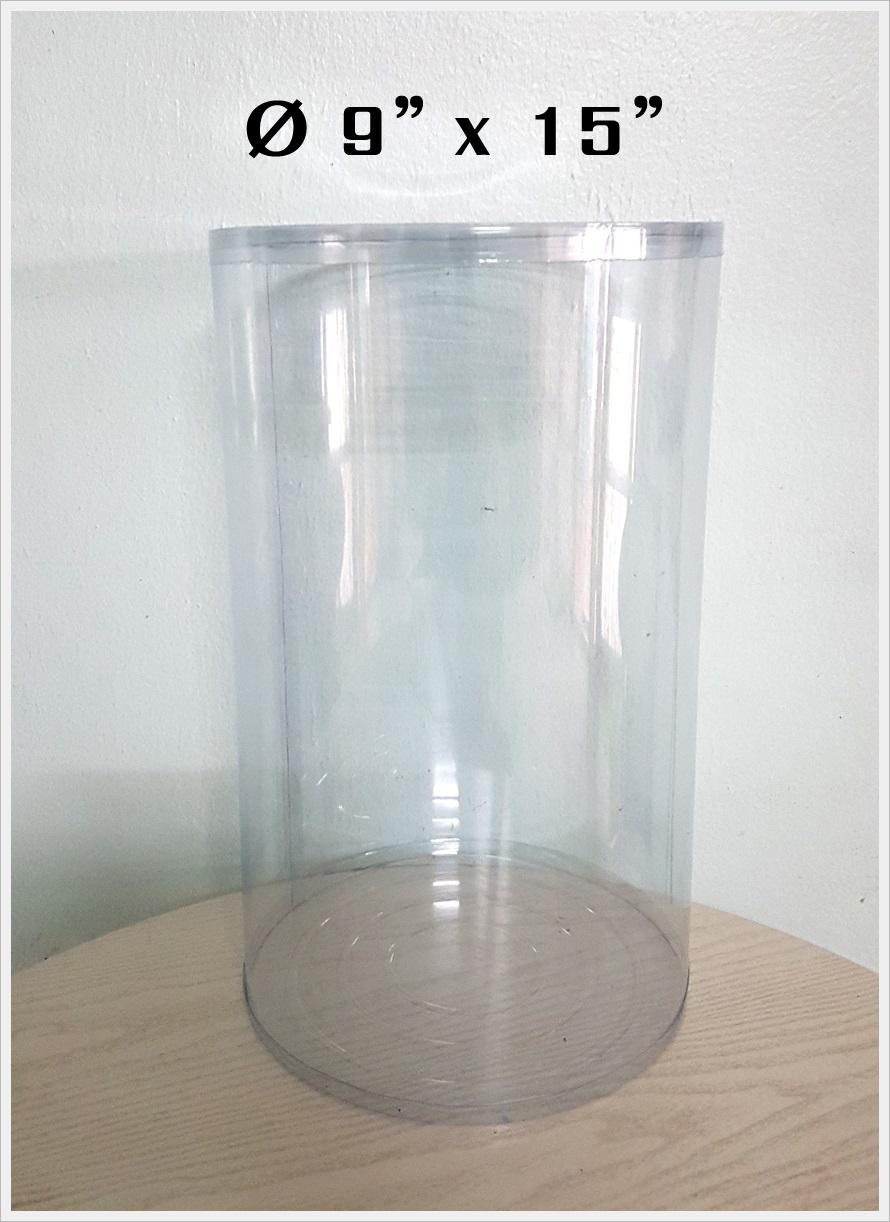 กล่องกลม-ตุ๊กตา ขนาด 9 นิ้ว x สูง 15 นิ้ว