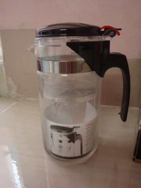 แก้วชงชา แบบสำเร็จรูป มีที่กรองในตัว 1000 ML. จำนวน 2 ใบ