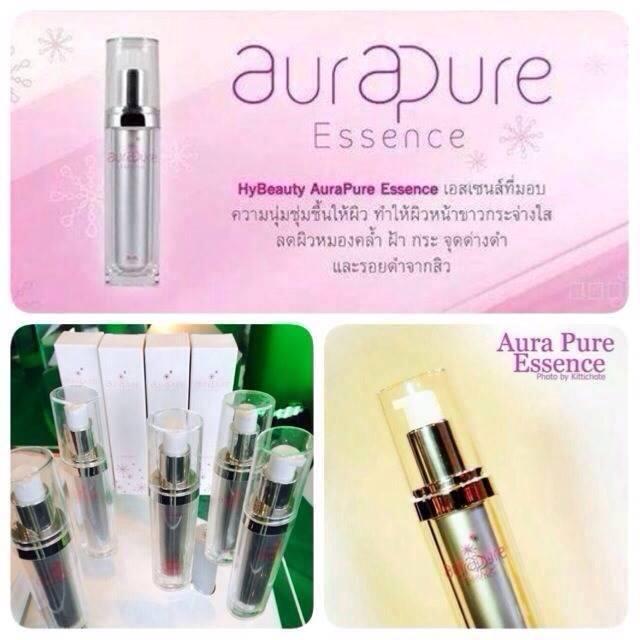 HyBeauty AQUA Aura Pure Essence10ml. ออร่า เพียว เอสเซ้นส์ 30 ml.