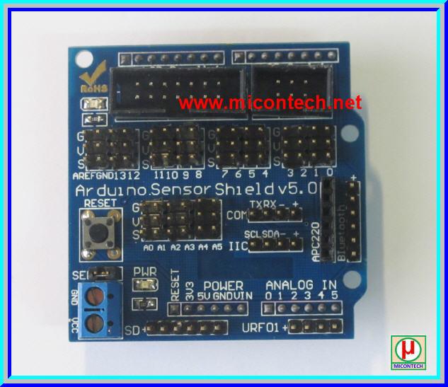 1x Arduino Sensor Shield V5.0 Board for Arduino
