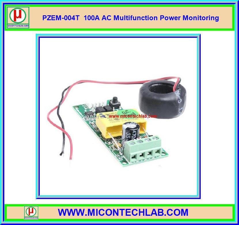 1x PZEM-004T 100A AC Multifunction Power Monitoring Communication
