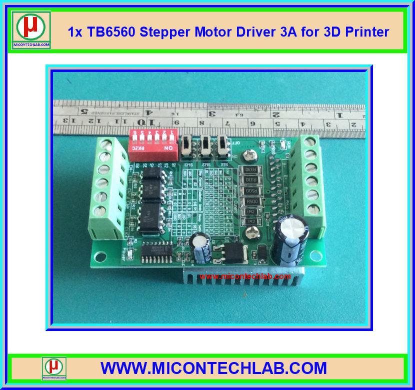 1x TB6560 3A Stepper Motor Driver Step Motor Drive for 3D Printer