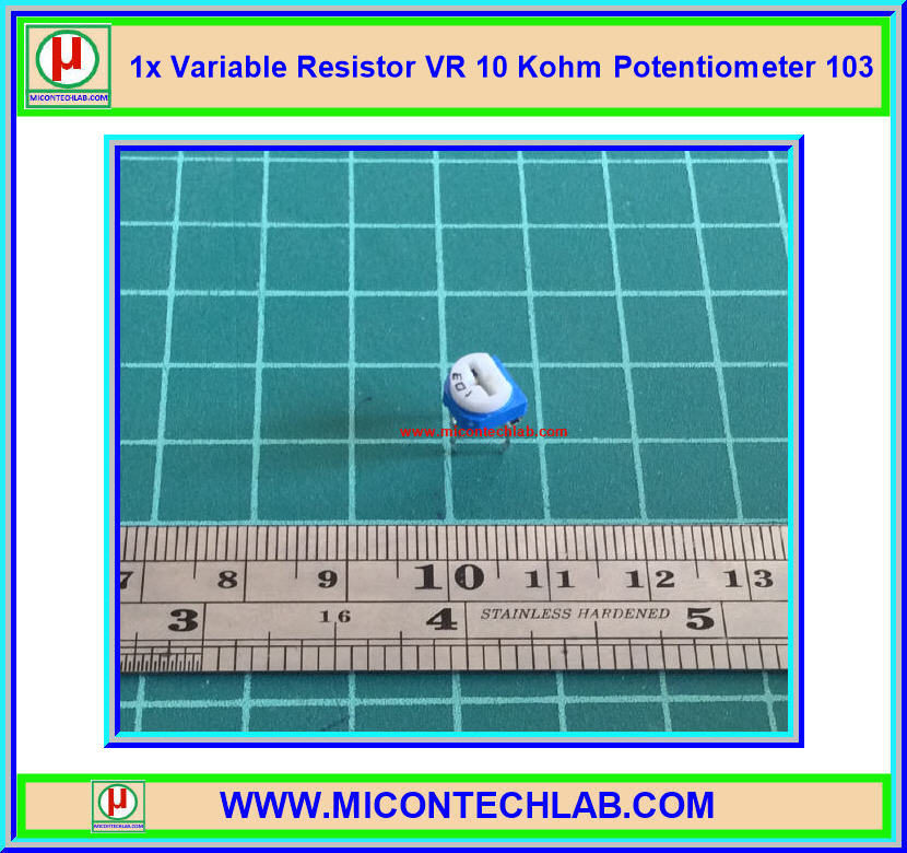 1x Variable Resistor VR 10 Kohm Potentiometer Resistor