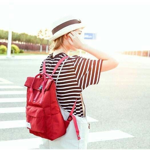 กระเป๋าเป้แฟชั่นฮาราจูกุสไตล์