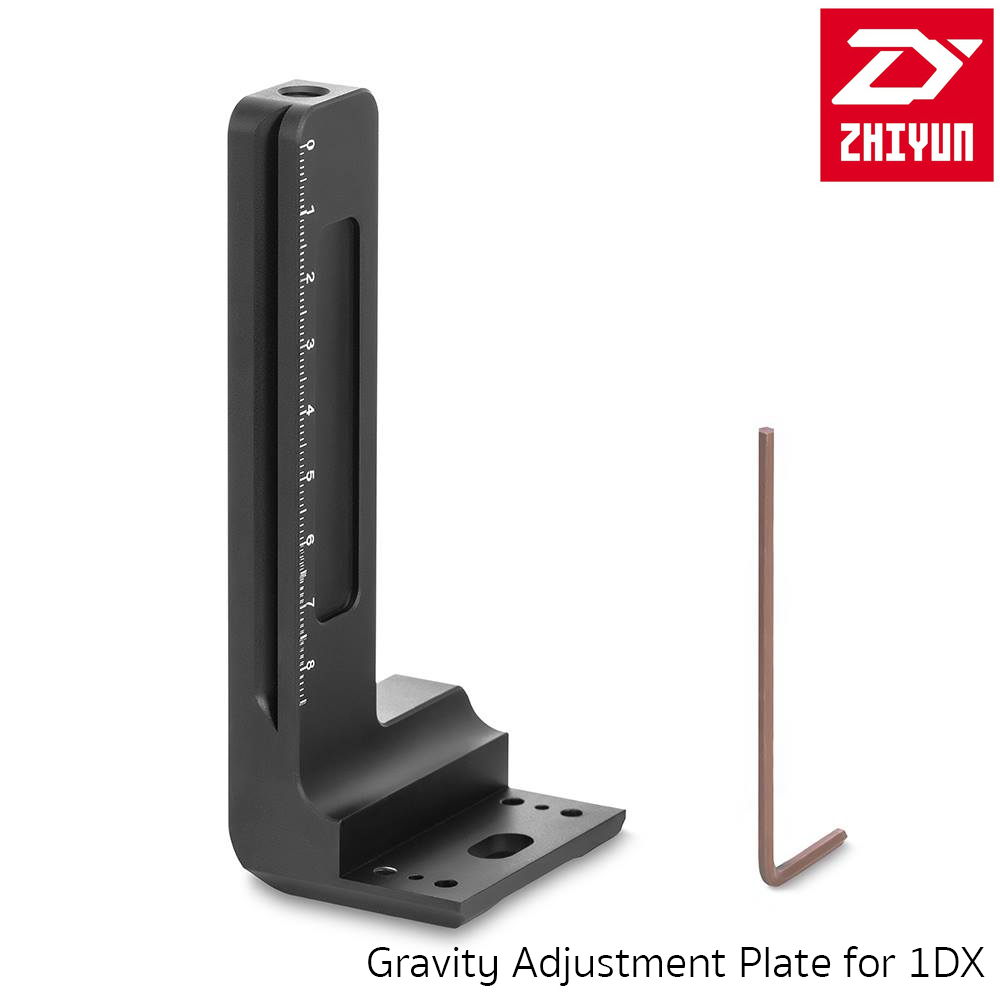 Zhiyun Crane 2 3 axis camera gimbal accessories kits Gravity Adjustment Plate for Canon 1DX