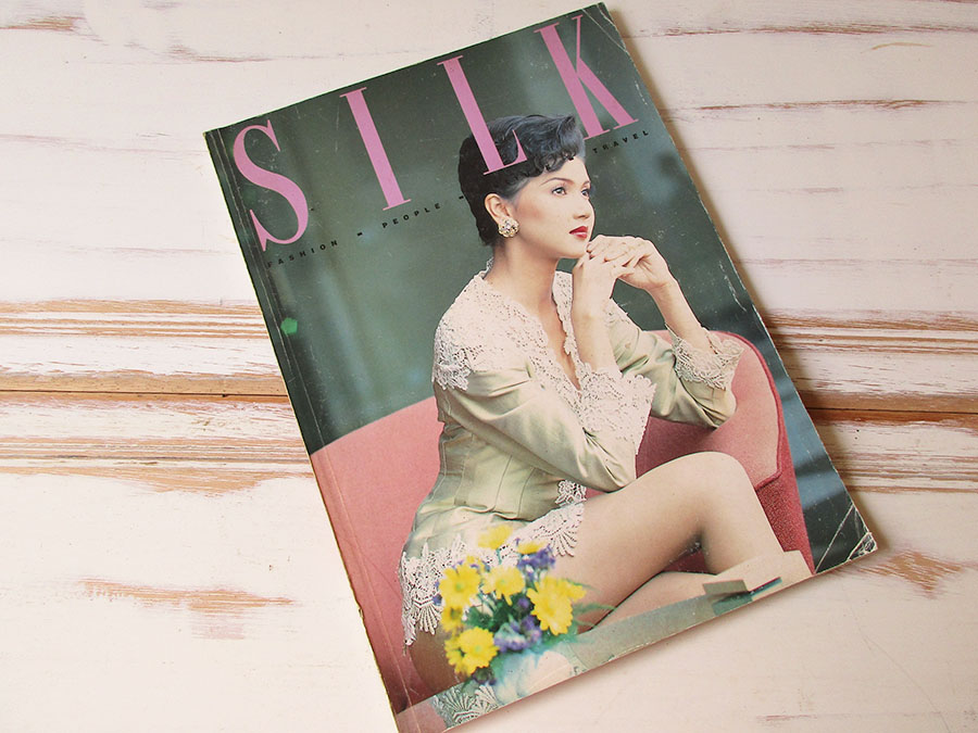 หนังสือ Silk fashion7