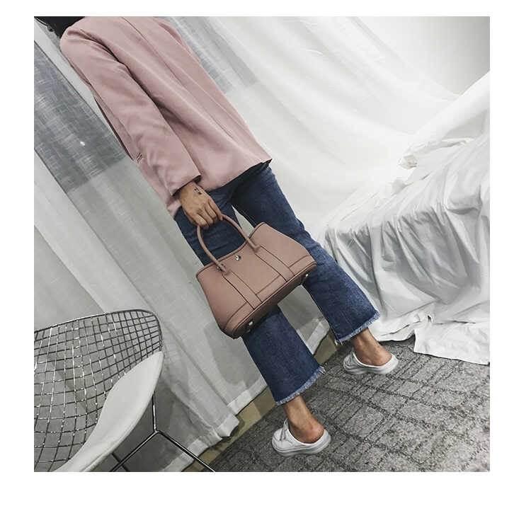 กระเป๋าสตางค์ H E R M E S garden party สีชมพูอ่อน