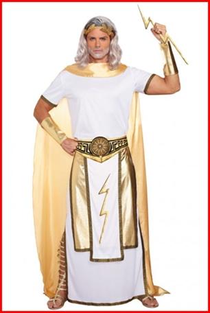 ชุดเทพซุส Zeus ราชาแห่งทวยเทพ