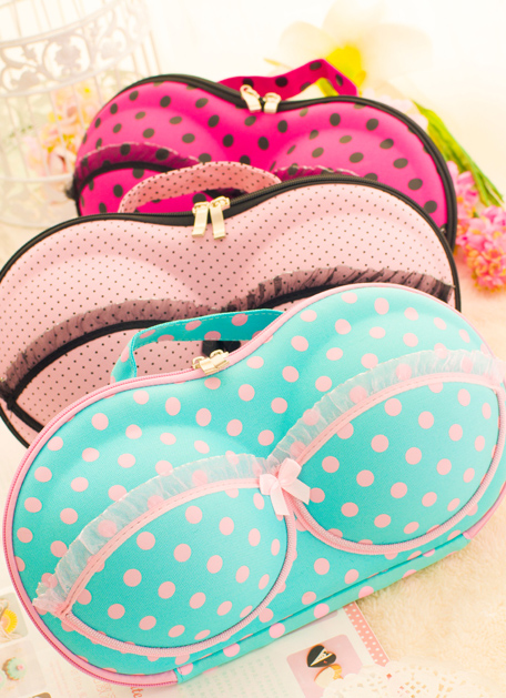 Pre Order / กระเป๋าสำหรับเก็บชุดชั้นใน รักษาทรงชุดชั้นใน แบบน่ารัก ๆ