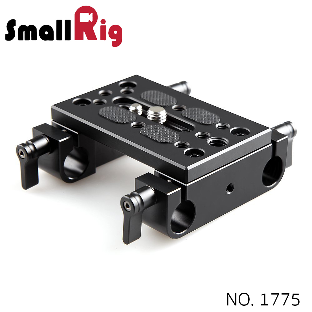 SMALLRIG® Baseplate with Dual 15mm Rod Clamp 1775