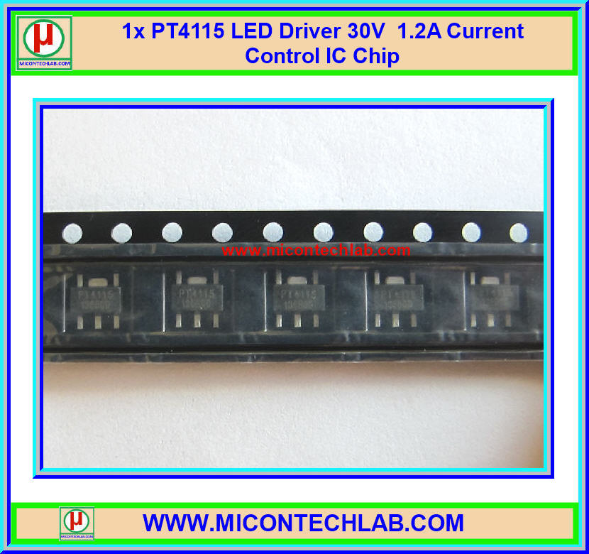 1x PT4115 High Power LED Driver 30V 1.2A Current Adjustable IC Chip