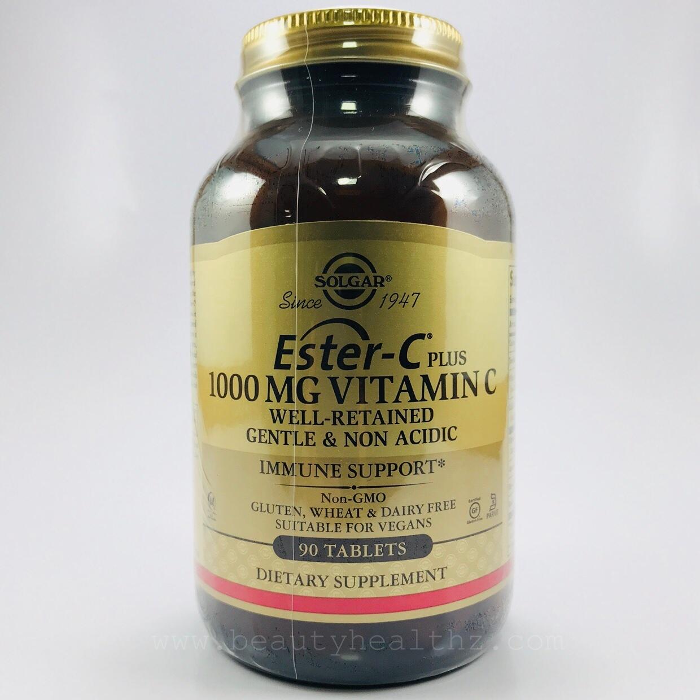 Solgar, Ester-C Plus, Vitamin C, 1,000 mg, 90 Tablets