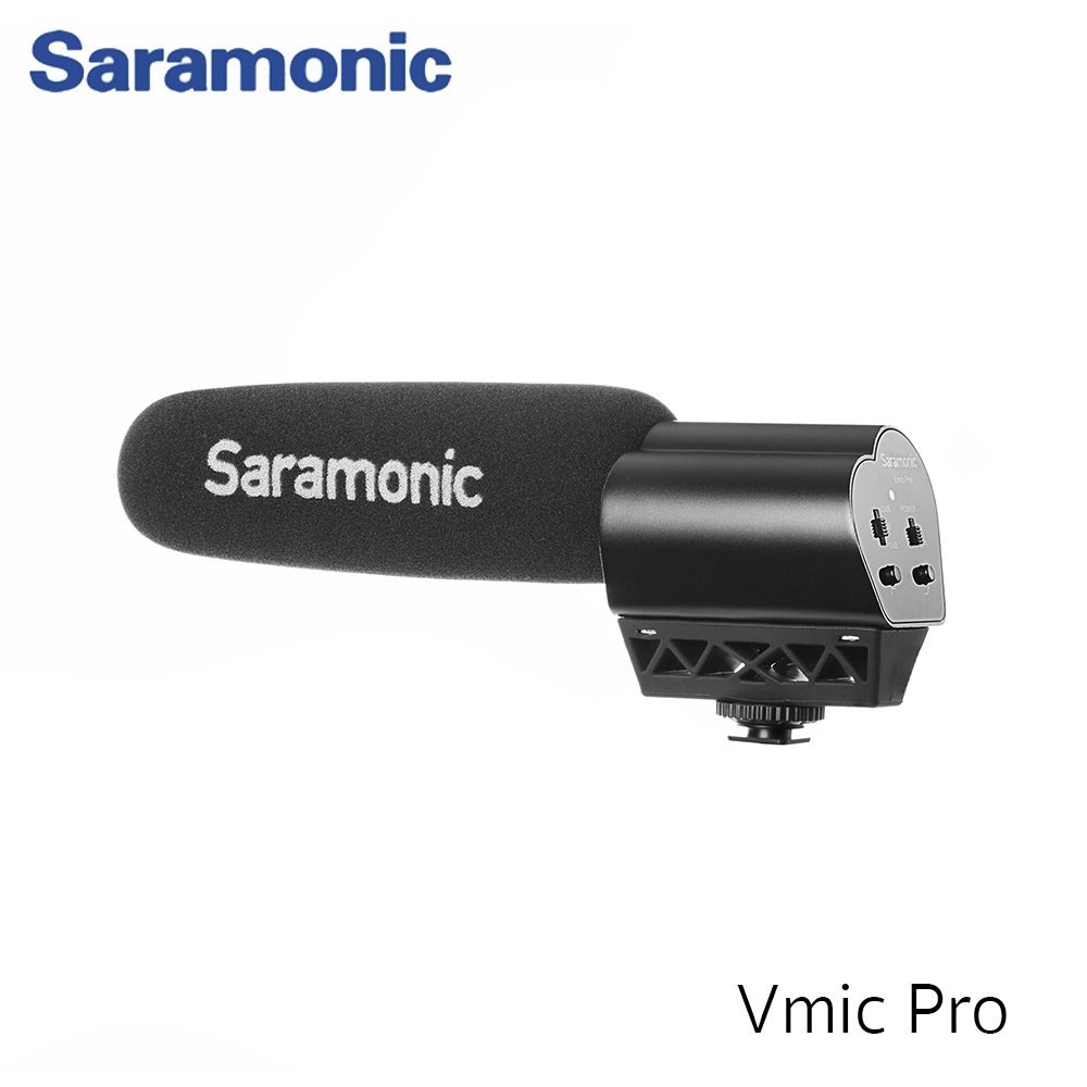 Saramonic Vmic Pro Super Directional Video Condenser Microphone For DSLR Cameras and Video Cameras