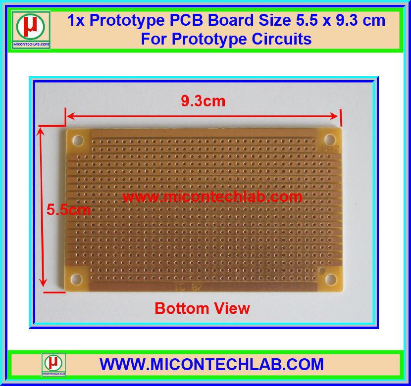 1x แผ่นปริ้นท์พีซีบี IC87 ขนาด 5.5 x 9.3 ซม. (PCB) (M)