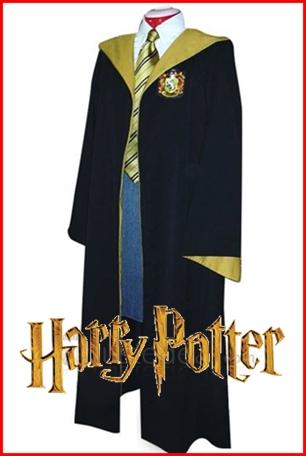 ชุดเสื้อคลุมแฮรี่พ็อตเตอร์ # บ้าน Hufflepuff