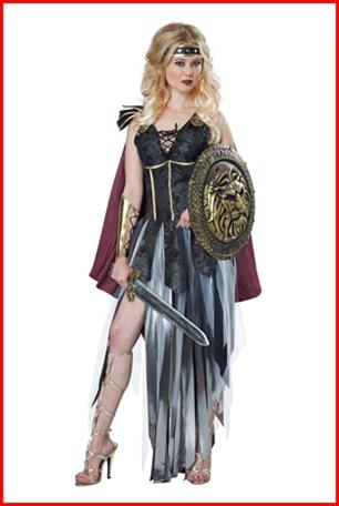 ชุดนักรบโรมันหญิง