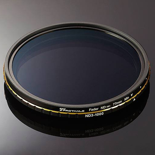 PROTANLE Adjustable ND Filter ND3-1000 (Optics glass Germany)