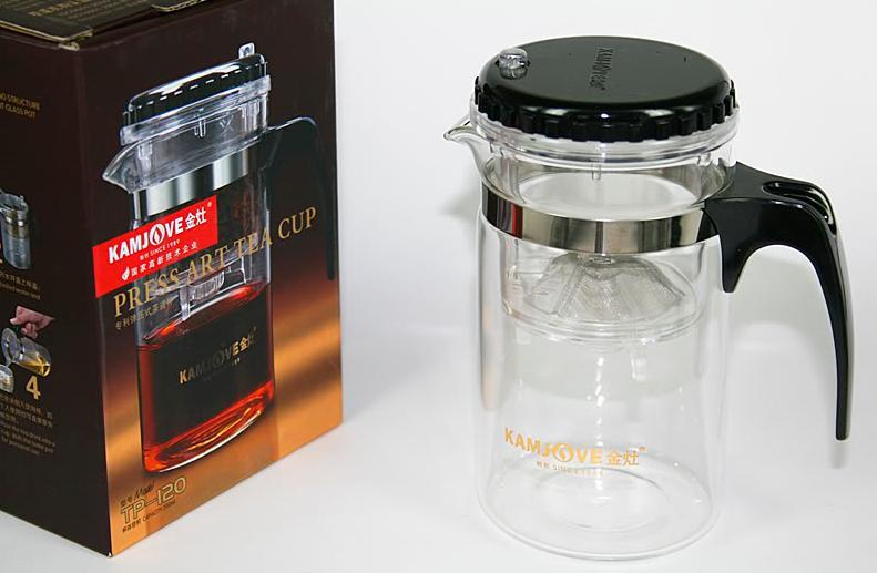 แก้วชงชา 500 ml. ยี่ห้อ KAMJOVE ชนิดอย่างดี กรุณาเลือกจัดส่งแบบ EMS.เท่านั้น