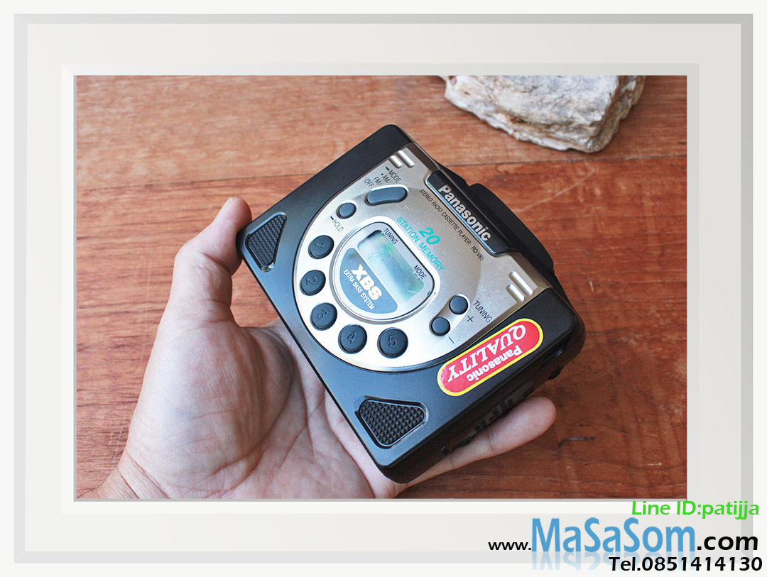 วิทยุเทปแบบพกพา Panasonic