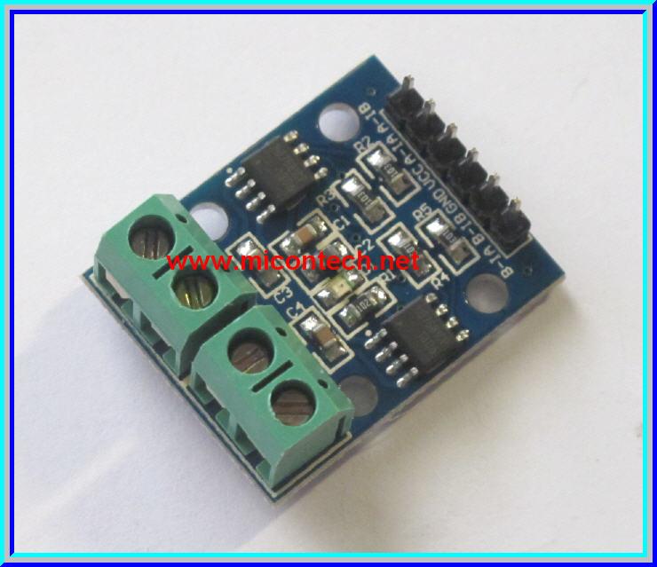 1x L9110S Full-Bridge Dual DC motor Stepper motor drive module