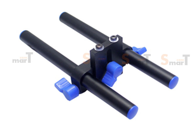 15mm Rods ความยาว 150 mm x 2 + ตัวยึด