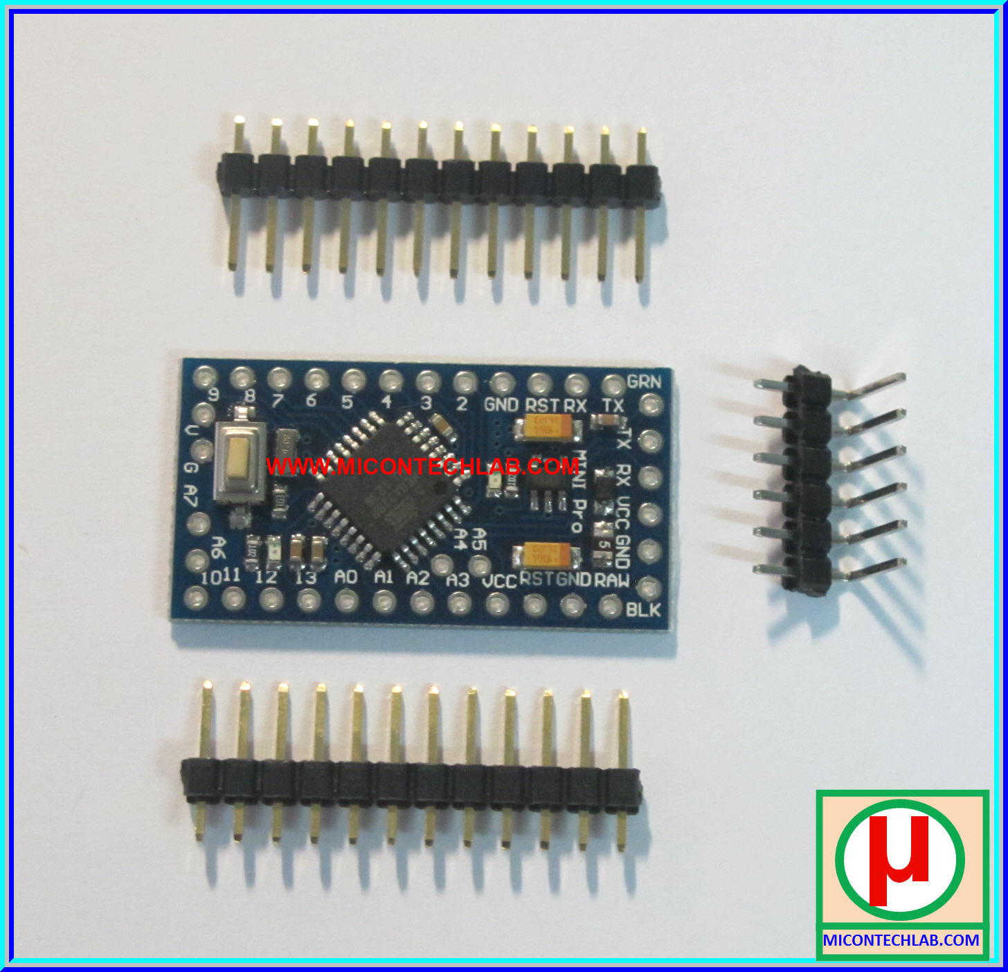 1x Arduino Promini ATMEGA328P-AU 3.3V 8MHz Module