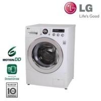 LG เครื่องซักผ้าฝาหน้า 8 ก.ก. รุ่น WD-12090TD ถูกกว่าห้าง โทร 097-2108092, 02-8825619