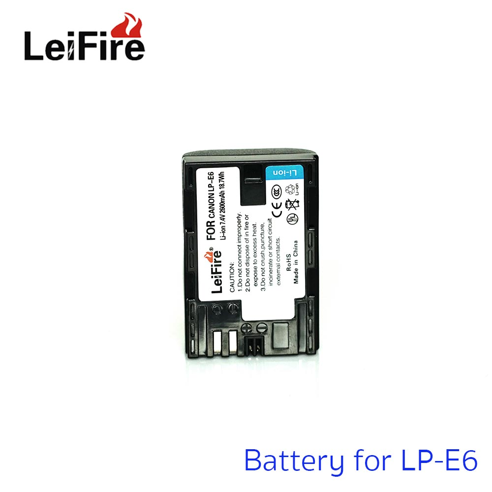 Battery LeiFire For Canon LP-E6