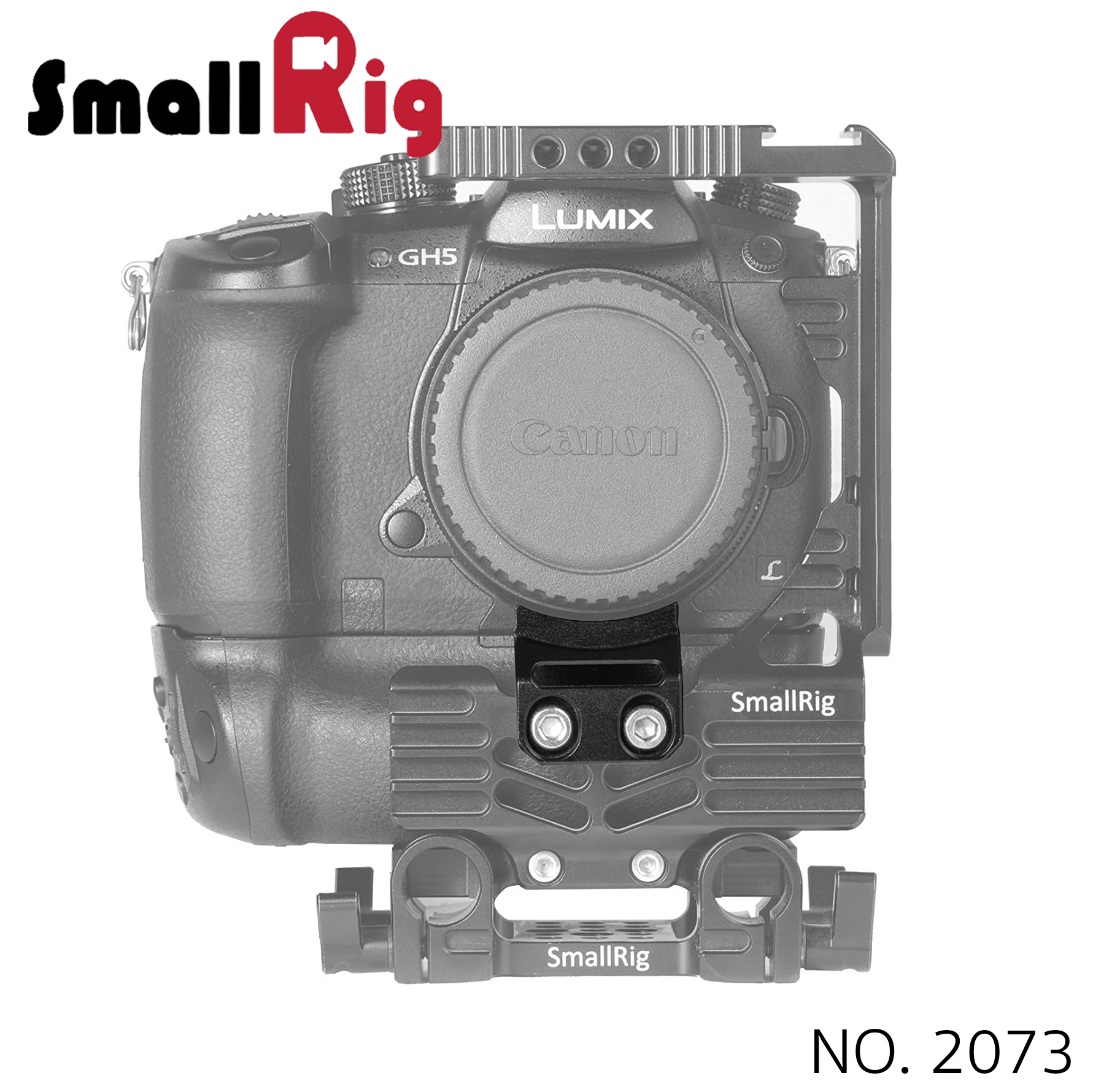 SMALLRIG® Metabones Lens Adapter Support for Panasonic Lumix GH5 Cage 2073