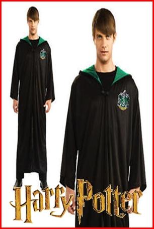 ชุดเสื้อคลุมแฮรี่พ็อตเตอร์ # บ้าน Slytherin