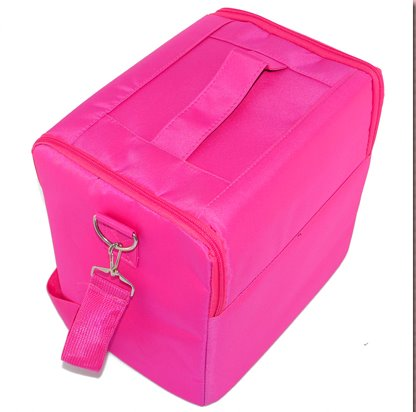 Kit Beauty Box Large Capacity Multi-layer LJN สีชมพู