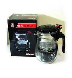 แก้วชงชา ขนาด 500 ML. แบบสำเร็จรูป มีที่กรองในตัว