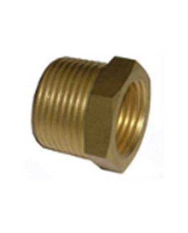 ข้อลดเหลี่ยม ทองเหลือง M-3220
