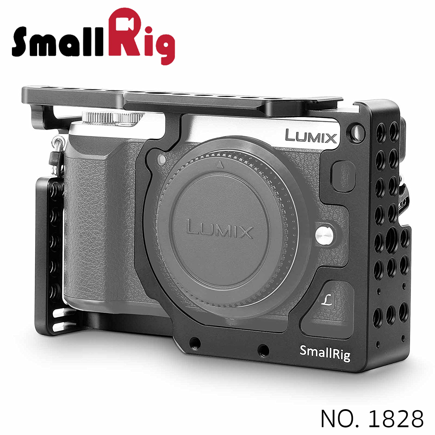 SMALLRIG® Camera Cage for Panasonic Lumix DMC-GX85/GX80/GX7 Mark II 1828