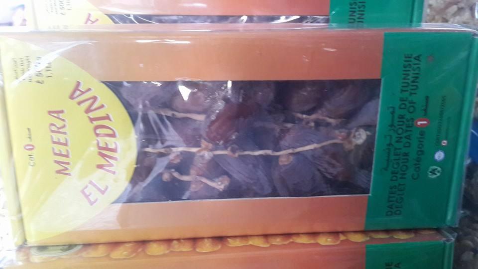 อินทผาลัม MEERA EL MEDINA จำนวน 12 กล่อง ยกลัง มีแบบกล่องสีดำเท่านั้น