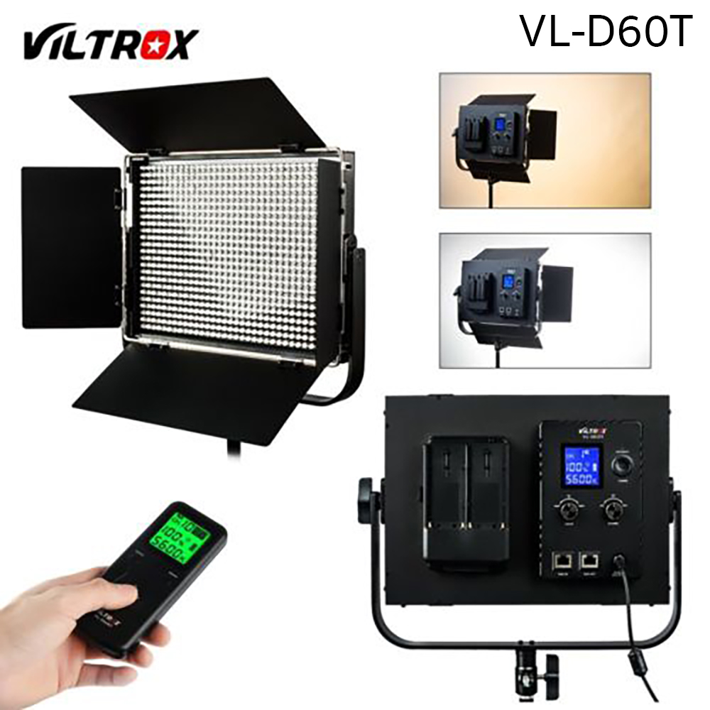 Continuous Lighting VL-D60T Viltrox LED Video Light