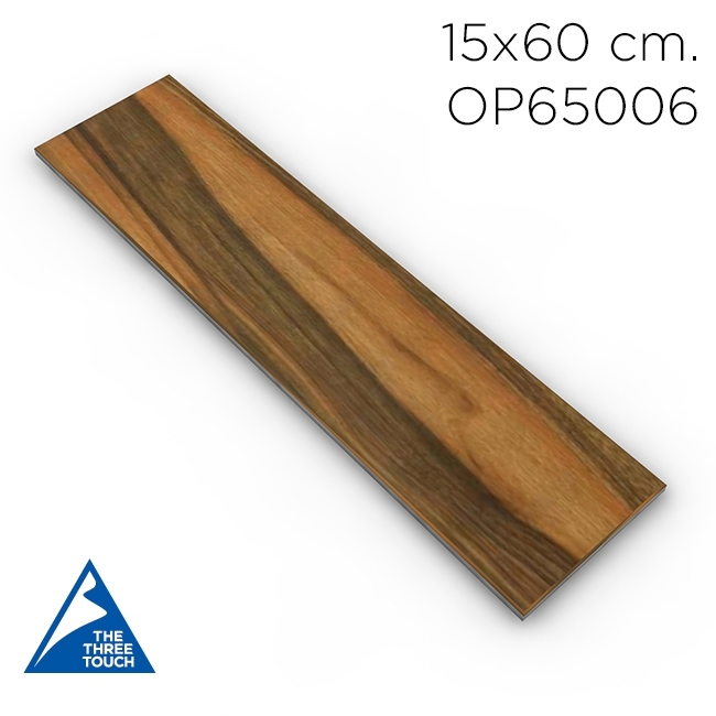 กระเบื้องลายไม้ 15x60 OP65006