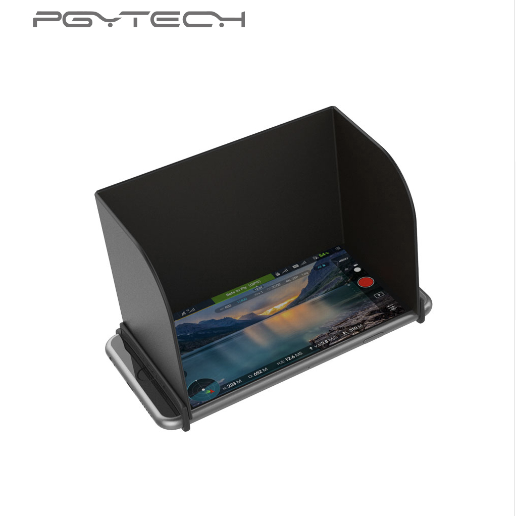 PGYTECH Monitor Hood Series for Mavic pro Phantom 4 pro Inspire M600 Osmo products Camera RC Drone Sunshade Sun fpv parts L128