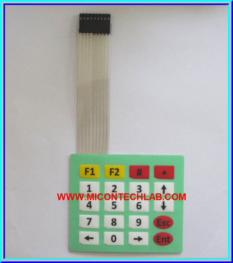 1x Keypad 4x5 Membrane matrix keypad Switch