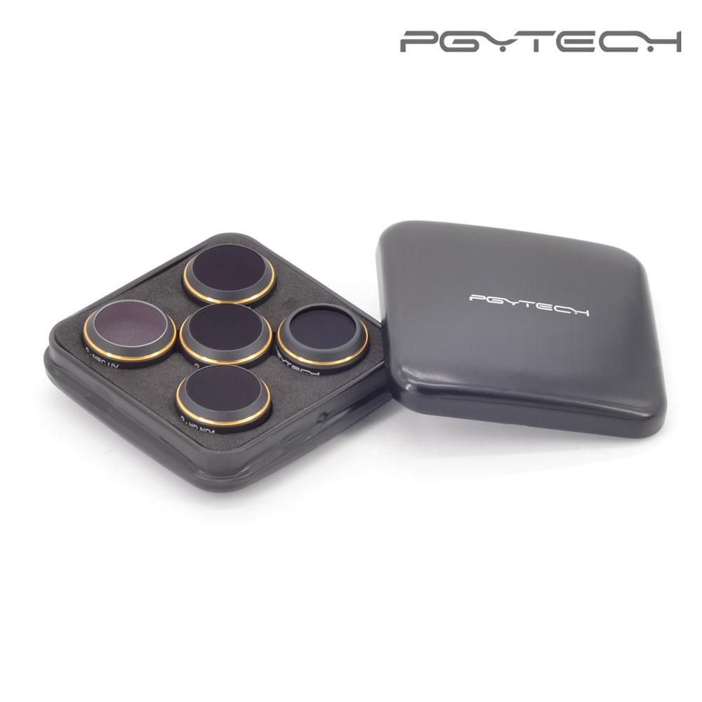 PGYTECH DJI Mavic Pro Lens Filter 5pcs/Set Lens Filters G-UV ND4 ND8 ND16 CPL HD