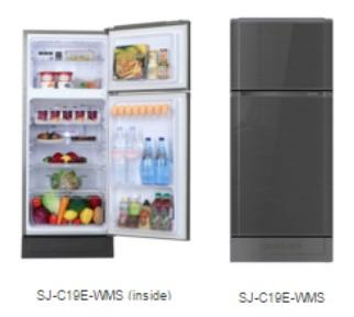 ตู้เย็น SHARP 2 ประตู รุ่น SJ-C19E-WMS/BLU ราคาพิเศษสุด โทร 097-2108092, 02-8825619