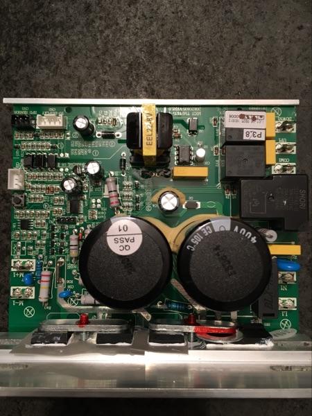 แผงวงจร ลู่วิ่งไฟฟ้า รุ่น DH-5000