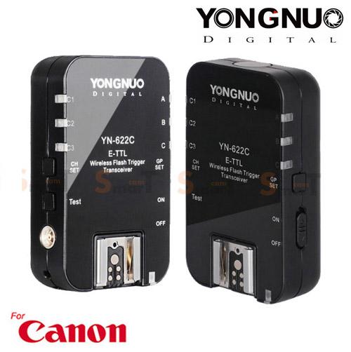 Flash Trigger YN-622C Youngnuo for Canon Auto E-TTL II ตัวสั่งงานแฟลชไร้สาย