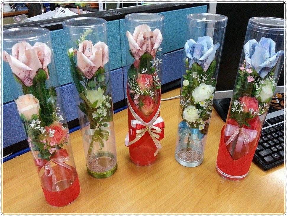 ตัวอย่าง-กล่องดอกไม้-แบบทรงกระบอก