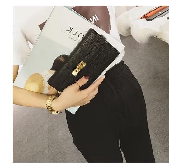 กระเป๋าสตางค์ H E R M E S style