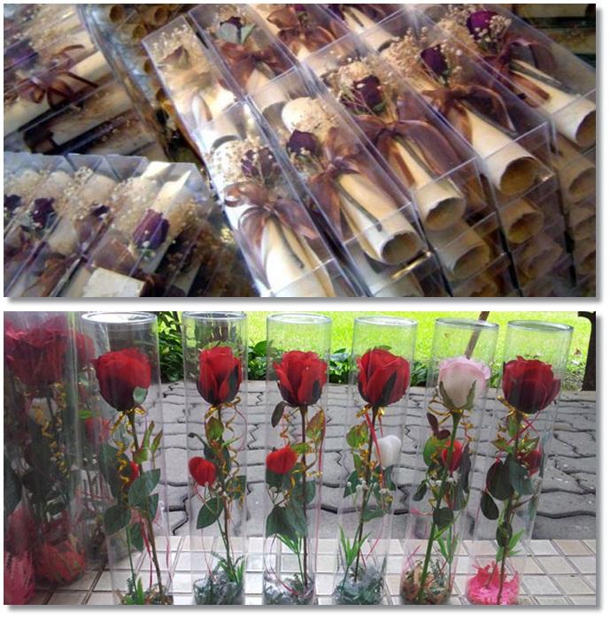 ตัวอย่าง-กล่องดอกไม้-แบบทรงสี่เหลี่ยม