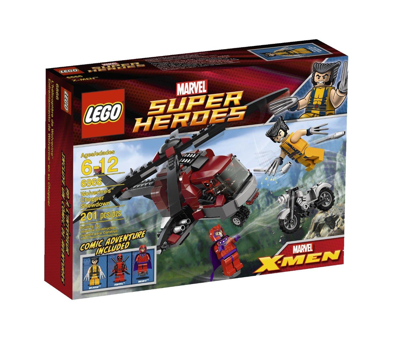 LEGO Super Heroes 6866 : Wolverine Chopper Showdown